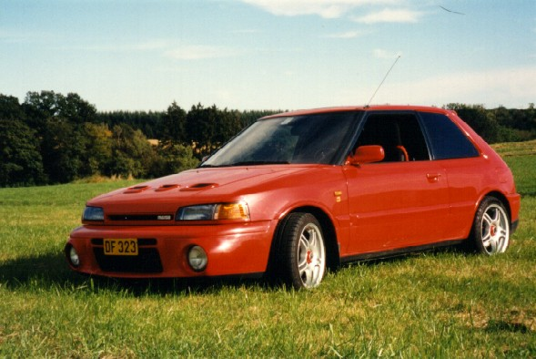 Reed Sturtevant S Mazda 323 Gtx Picture Page